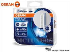 2x New OSRAM D3S CBI COOL BLUE INTENSE 66340CBI HID XENON BULBS 35W GERMANY PAIR
