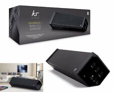 KitSound Boombar 2 Universale Stereo Portatile Altoparlante Bluetooth Wireless Nero
