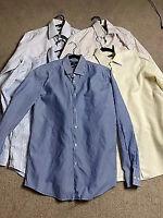 "Hugo Boss Men 5 Formal Bussiness Shirt Bundle Size Chest 41"" Collar 16"""