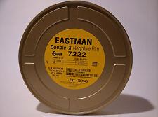 Kodak 16mm Double-X B&W Negative Movie Film 7222 400' 250 ISO 1R Roll Brand New