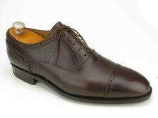 J.m.Weston Brown Scotchgrain Kalbsleder Captoe Oxford Schuh 8 Eu / 9 E US