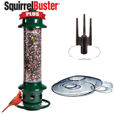 New listing Complete Brome Squirrel Buster Plus Bird Feeder & Accessory Kit w/ Weather Guard