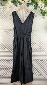 Madewell Waikiki Cover Up Black Jumpsuit Size XS sleeveless
