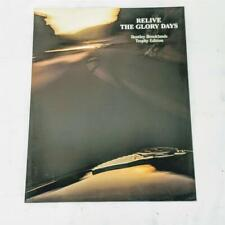 Relive the Glory Days 1997 USA / Canada Bentley Brooklands Trophy Edition Flier