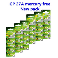 Gp 27A 12V Mn27 Gp27A Ca22 A27 G27A El812 Battery (pack-50) Us Seller