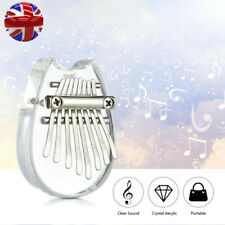 More details for clear kalimba 8 keys thumb piano great sound finger keyboard musical instrument