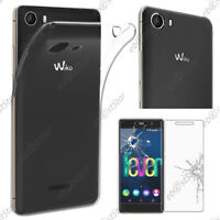 ebestStar VERRE Trempé+ Coque Gel Wiko Fever 4G/Freddy/Harry, Pulp 4G/Fab, Robby