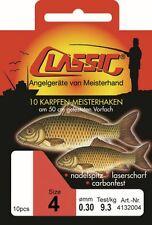 Classic Karpfen Meisterhaken Angelhaken 8