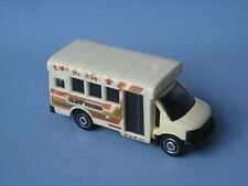 Matchbox GMC USA School Bus Metro Coach Cliff Tours Tourist Toy Model Car in BP