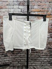 Lane Bryant Sophie Theallet Lace Hook Eye Waist Cincher White 22/24 $60