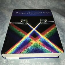 Principles of Instrumental Analysis by Douglas Skoog (HARDCOVER 6th Ed.)