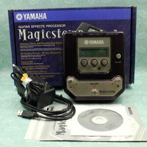YAMAHA UB99 Magicstomp w/Box Adapter Guitar Multi Effects Processor Pedal 010229