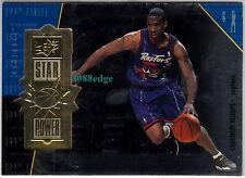 1998-99 SPx FINITE STAR POWER #118:CHAUNCEY BILLUPS #/2700 RADIANCE GOLD RAPTORS