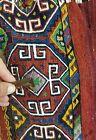 "Museum Qlty 1900-1939s Antique 2'9""×4'8"" Embroidered Panels Soumak Camel Bag"