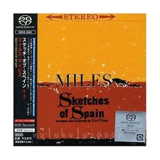 SACD Miles Davis Sketches of Spain +3 Bounus Track  Digipak Japan Ver. Gil Evans