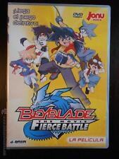 DVD BEYBLADE - THE MOVIE - FIERCE BATTLE - ¡LLEGA EL JUEGO DEFINITIVO! (6H)