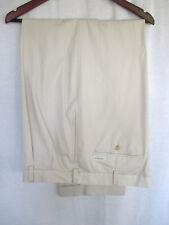 Daniel Cremieux 40x30 Men's Casual Pants Beige 100% Cotton