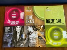 Zumba Workout Dvds 6 Dvds included. Most are Brand New
