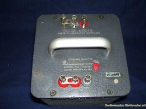 Standard Inductor GENERAL RADIO mod. 1482-C