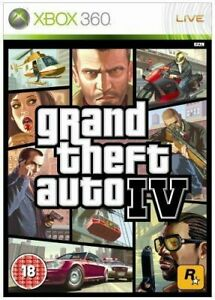 Grand Theft Auto 4 IV GTA 4 XBox 360 / Xbox One PRISTINE 1st Class FAST DELIVERY