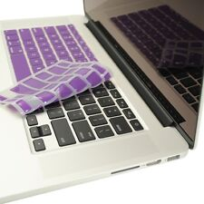 "PURPLE Silicone Keyboard Cover for NEW Macbook Pro 13"" A1425 with Retina display"