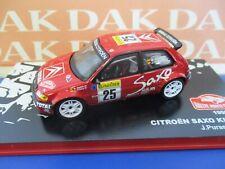 Die cast 1/43 Modellino Auto Citroen Saxo Kit Car Rally Monte Carlo 1999 J.Puras
