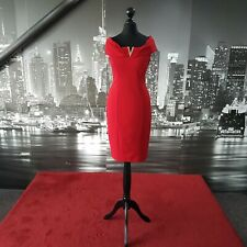 Stunning Dress (Red-Size 10) Prom, Cruise, Ball, Cocktail, Bridesmaid, Races