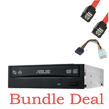 Asus DVD Re-Writer, SATA, 24x, M-Disk Support with SATA Cables (DRW-24D5MT OEM)