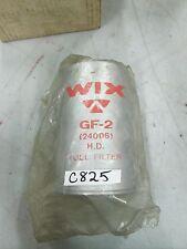 Wix Fuel Filter GF-2 (24006) H.D. Sealed (NIB)