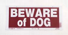 "Hillman 847306 6"" x 14"" Beware of Dog Sign"