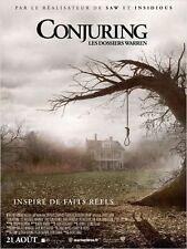 Affiche 120x160cm CONJURING : Les Dossiers Warren /THE CONJURING 2013 NEUVE