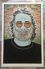 Jerry Garcia (Winter) Built To Last Poster Screen Print by Chuck Sperry #/500