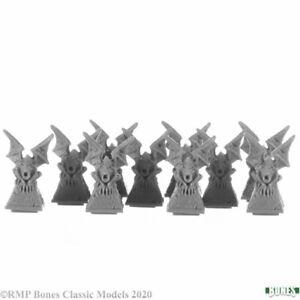 Reaper Miniatures Bones - 77731 : Gargoyle Pillar Tops