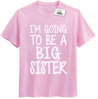 Im Going To Be A Big Sister Kids Printed T-Shirt