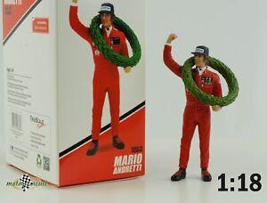 Figur Mario Andretti 1977 French GP Winner 1:18 TSM TrueScale