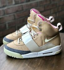 575c75b2 Nike Air Yeezy 1 Net Tan 9.5 Red October Blink Kanye West Vnds Clean Solar