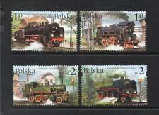 POLAND MNH 2002 SG4025-4028 STEAM LOCOMOTIVES