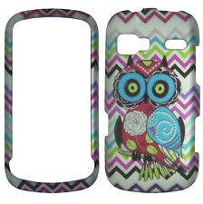Twin Owl Chevron Case for LG Expression C395 Rumar Freedom  Phone Cover ::
