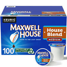 Maxwell House Medium Roast House Blend Coffee K-Cups (31 oz., 100 ct.) FAST SHIP