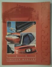 LINCOLN MERCURY orig 1995 USA Mkt Accessories Brochure - Mark VIII Town Car etc