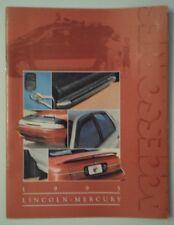 Lincoln Mercury 1995 ORIG USA Inchiostri Accessori BROCHURE-Mark VIII TOWN CAR ETC