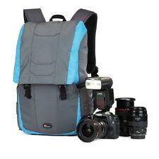 Lowepro versapack 200 AW gris-azul cámara mochila outdoor bolso equipaje de mano