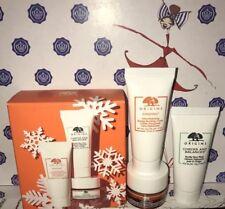 Origins GinZing Eye Cream Energy Boosting Cream Checks and Balances 3 pc Set NEW