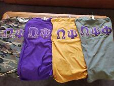 "Omega Psi Phi ""Funky 4 Corners""  Tshirt Set 2XL"