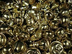 Liberty/Jingle Bells Mix 50g Gold Asst Sizes Crafts Christmas FREE POSTAGE
