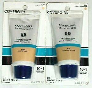CoverGirl CG Smoothers BB Cream PICK SHADE 805 810 New Expired