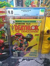 Astonishing Tales #36 Marvel Comics Last Issue in Series CGC 9.0
