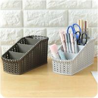 Plastic Basket Makeup Holder Bathroom Desktop Storage Organizer Laundry Holder