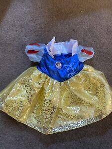 Build A Bear BAB Snow Disney Dress