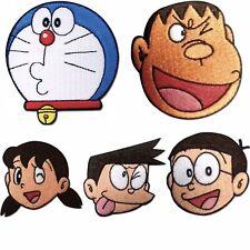 Doraemon Patch Set Of 5 Cosplay Anime Manga Licensed Noby Sneech Rare Sealed New